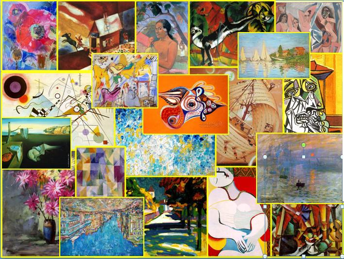 новые направления в живописи:
