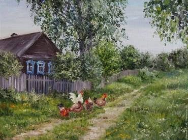 Система вопросов к рассказу Б.П. Екимова «Холюшино подворье»