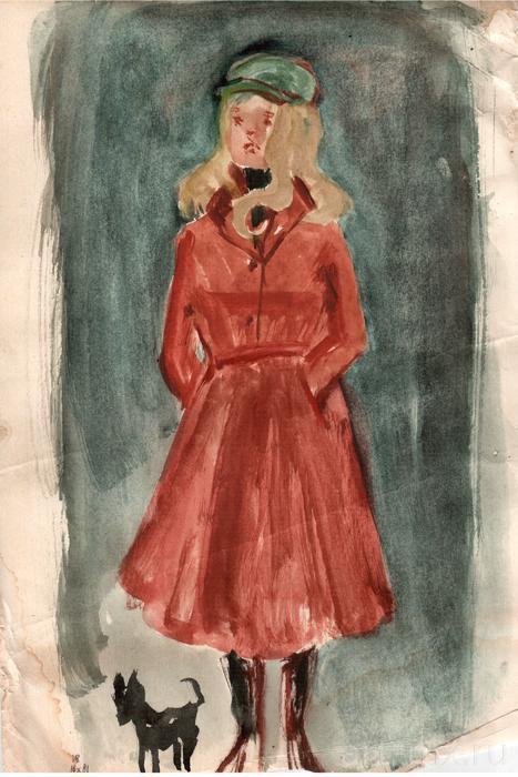 Система вопросов к рассказу Б.П. Екимова «Девушка в красном пальто»